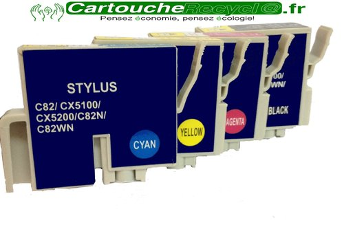 Pack T0425 x 4 cartouches
