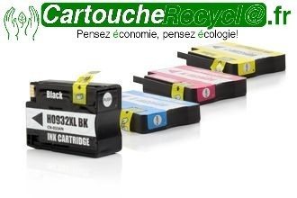Pack H 932xl x 4 cartouches