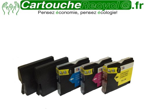 Pack LC970 / LC1000 x 5 cartouches